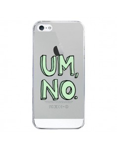 Coque iPhone 5/5S et SE Um, No Transparente - Maryline Cazenave