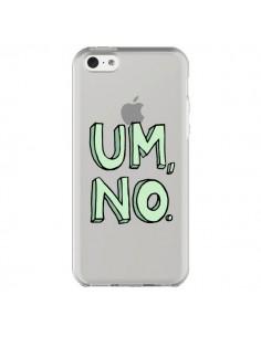 Coque iPhone 5C Um, No Transparente - Maryline Cazenave