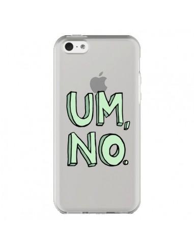 Coque Um, No Transparente pour iPhone 5C - Maryline Cazenave