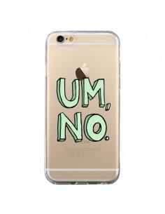 Coque Um, No Transparente pour iPhone 6 et 6S - Maryline Cazenave