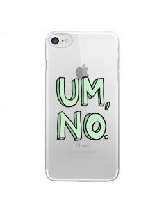 Coque Um, No Transparente pour iPhone 7 - Maryline Cazenave