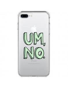 Coque iPhone 7 Plus et 8 Plus Um, No Transparente - Maryline Cazenave
