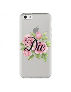 Coque iPhone 5C Die Fleurs Transparente - Maryline Cazenave