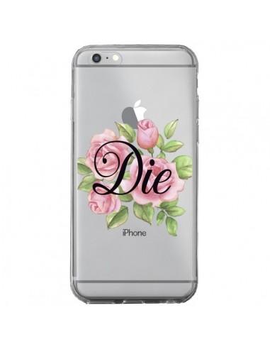 Coque iPhone 6 Plus et 6S Plus Die Fleurs Transparente - Maryline Cazenave