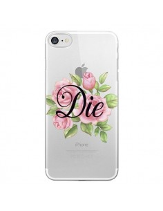 Coque iPhone 7 et 8 Die Fleurs Transparente - Maryline Cazenave