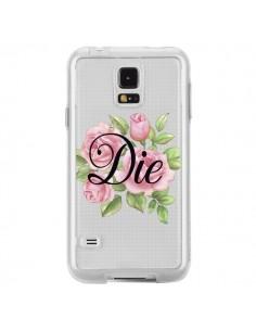 Coque Die Fleurs Transparente pour Samsung Galaxy S5 - Maryline Cazenave