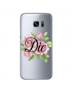 Coque Die Fleurs Transparente pour Samsung Galaxy S7 - Maryline Cazenave