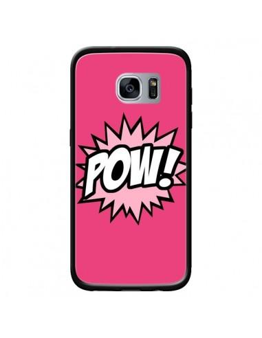 Coque Pow Bulles BD Comics pour Samsung Galaxy S7 - Maryline Cazenave