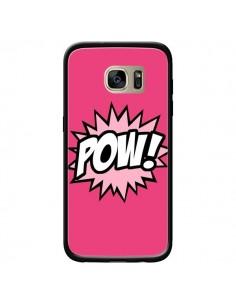 Coque Pow Bulles BD Comics pour Samsung Galaxy S7 Edge - Maryline Cazenave