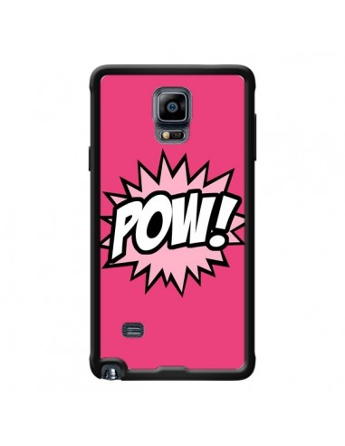Coque Pow Bulles BD Comics pour Samsung Galaxy Note 4 - Maryline Cazenave