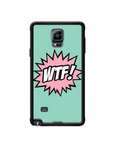 Coque WTF Bulles BD Comics pour Samsung Galaxy Note 4 - Maryline Cazenave