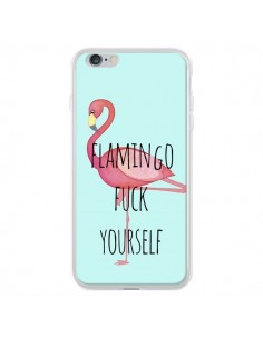 Coque Flamingo Fuck Yourself pour iPhone 6 Plus et 6S Plus - Maryline Cazenave