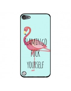 Coque Flamingo Fuck Yourself pour iPod Touch 5/6 et 7 - Maryline Cazenave