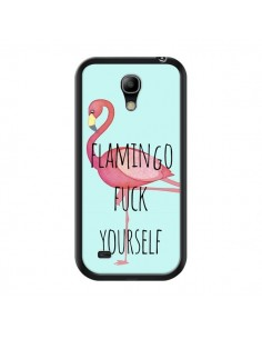 Coque Flamingo Fuck Yourself pour Samsung Galaxy S4 Mini - Maryline Cazenave
