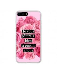Coque Je vous pèterais Fleurs pour iPhone 7 Plus et 8 Plus - Maryline Cazenave