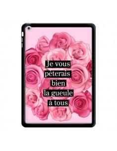 Coque Je vous pèterais Fleurs pour iPad Air - Maryline Cazenave