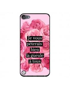 Coque Je vous pèterais Fleurs pour iPod Touch 5/6 et 7 - Maryline Cazenave