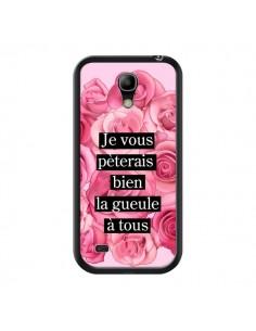 Coque Je vous pèterais Fleurs pour Samsung Galaxy S4 Mini - Maryline Cazenave