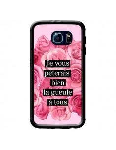 Coque Je vous pèterais Fleurs pour Samsung Galaxy S6 - Maryline Cazenave