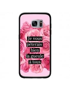 Coque Je vous pèterais Fleurs pour Samsung Galaxy S7 - Maryline Cazenave