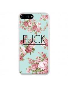 Coque Fuck Fleurs pour iPhone 7 Plus et 8 Plus - Maryline Cazenave