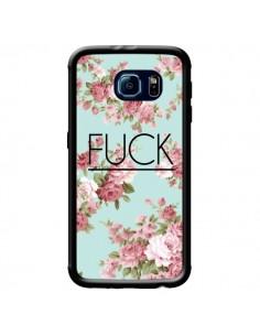 Coque Fuck Fleurs pour Samsung Galaxy S6 - Maryline Cazenave