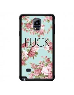 Coque Fuck Fleurs pour Samsung Galaxy Note 4 - Maryline Cazenave