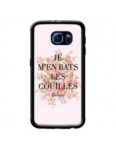 Coque Je m'en bats les couilles Bisous pour Samsung Galaxy S6 - Maryline Cazenave