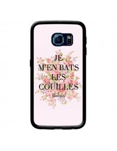 Coque Je m'en bats les couilles Bisous pour Samsung Galaxy S6 Edge - Maryline Cazenave