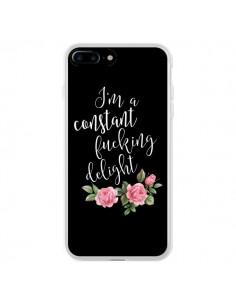 Coque Fucking Delight Fleurs pour iPhone 7 Plus et 8 Plus - Maryline Cazenave