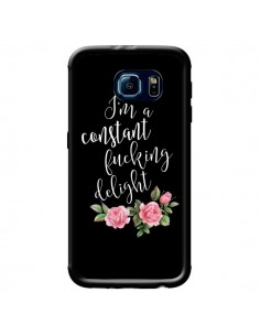 Coque Fucking Delight Fleurs pour Samsung Galaxy S6 - Maryline Cazenave
