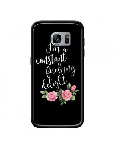 Coque Fucking Delight Fleurs pour Samsung Galaxy S7 - Maryline Cazenave