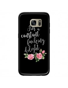 Coque Fucking Delight Fleurs pour Samsung Galaxy S7 Edge - Maryline Cazenave