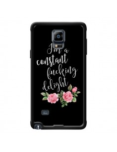 Coque Fucking Delight Fleurs pour Samsung Galaxy Note 4 - Maryline Cazenave