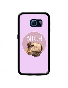Coque Bulldog Bitch pour Samsung Galaxy S6 Edge - Maryline Cazenave