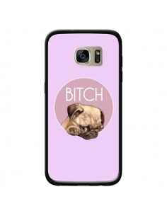Coque Bulldog Bitch pour Samsung Galaxy S7 Edge - Maryline Cazenave