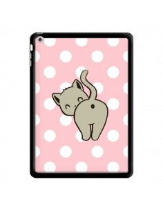 Coque Chat Chaton Pois pour iPad Air - Maryline Cazenave