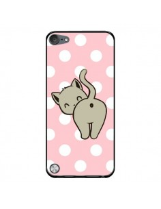 Coque Chat Chaton Pois pour iPod Touch 5 - Maryline Cazenave