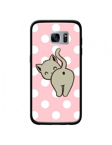 Coque Chat Chaton Pois pour Samsung...