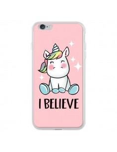 Coque Licorne I Believe pour iPhone 6 Plus et 6S Plus - Maryline Cazenave