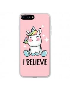 Coque Licorne I Believe pour iPhone 7 Plus et 8 Plus - Maryline Cazenave