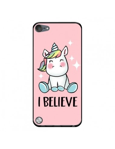 Coque Licorne I Believe pour iPod Touch 5 - Maryline Cazenave