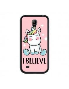 Coque Licorne I Believe pour Samsung Galaxy S4 Mini - Maryline Cazenave