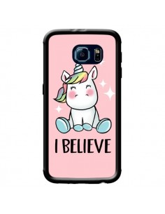 Coque Licorne I Believe pour Samsung Galaxy S6 - Maryline Cazenave