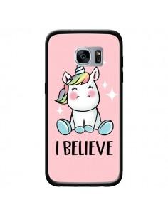 Coque Licorne I Believe pour Samsung Galaxy S7 - Maryline Cazenave