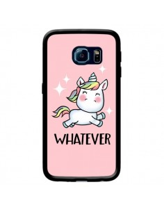 Coque Licorne Whatever pour Samsung Galaxy S6 Edge - Maryline Cazenave