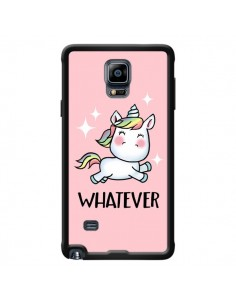 Coque Licorne Whatever pour Samsung Galaxy Note 4 - Maryline Cazenave