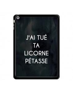 Coque J'ai tué ta Licorne Pétasse pour iPad Air - Maryline Cazenave