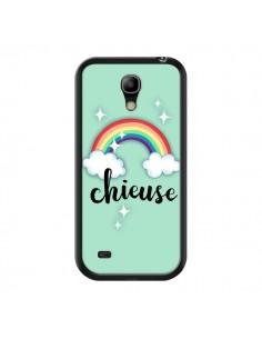 Coque Chieuse Arc en Ciel pour Samsung Galaxy S4 Mini - Maryline Cazenave