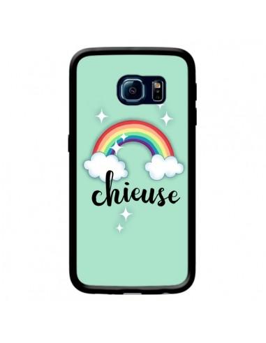 Coque Chieuse Arc en Ciel pour Samsung Galaxy S6 Edge - Maryline Cazenave